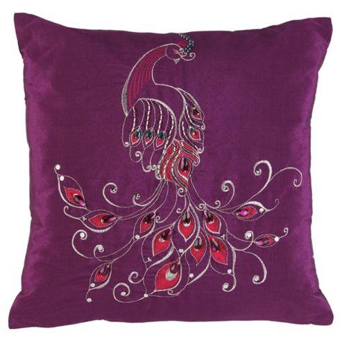 F&F home PEACOCK Cushion - Purple