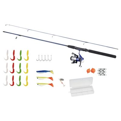 Zebco Pier and Boat Fishing Set