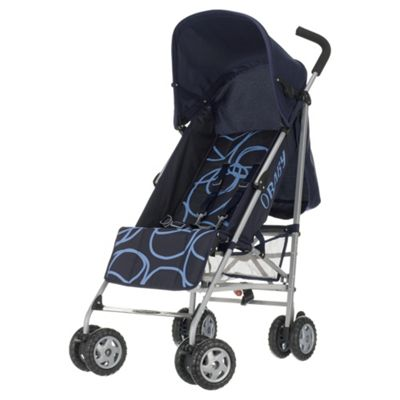 Obaby Atlas Pushchair, Navy Scribble