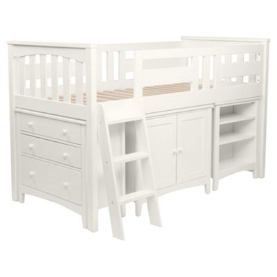 Harvey Sleep Station Left Hand Ladder, Ivory