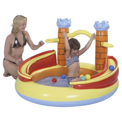 Tesco Funny Castle Paddling Pool