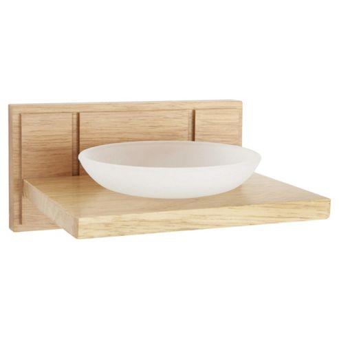 Croydex Soap Dish Light Wood