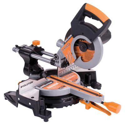 Evolution RAGE3-S300 Multipurpose Sliding Mitre Saw (Orange)