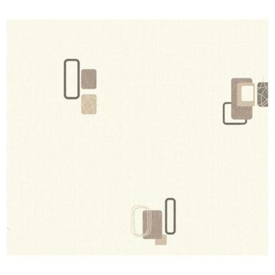 Arthouse Adelphi block Chocolate wallpaper
