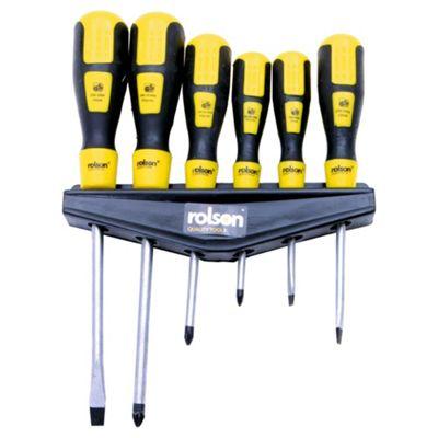 Rolson 6pc Screwdriver Set