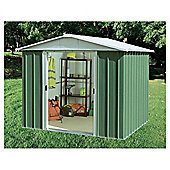 Yardmaster 9'4x12'8 Metal Apex Shed