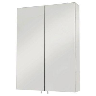 Croydex Anton Two Door Stainless Steel Cabinet
