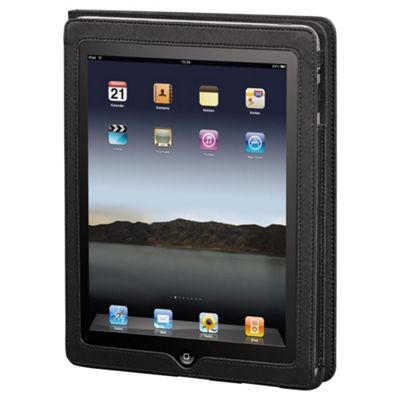 Hama Arezzo Portfolio Case for the new Apple iPad and iPad 2 Black