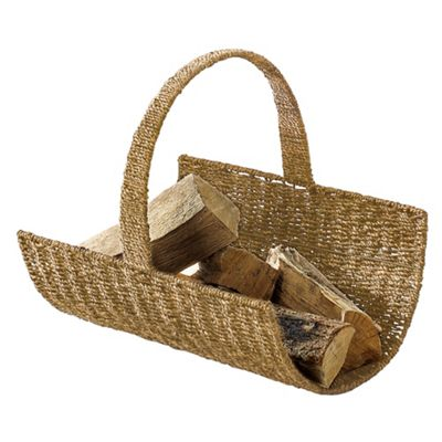 Tesco Seagrass Log Basket