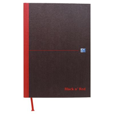 Black n' Red A5 Casebound Notebook