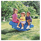 Little Tikes Whale Teeter Totter Blue