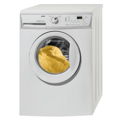 Zanussi ZWH7122J Washing Machine, 7kg Wash Load, 1200 RPM Spin, A+ Energy Rating. White