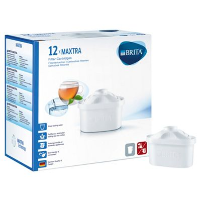 BRITA Maxtra 12 Pack Water Filter Cartridges