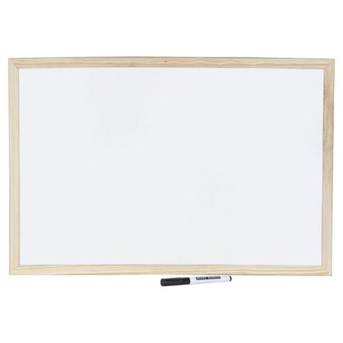 Tesco White Board, 60cm X 40cm