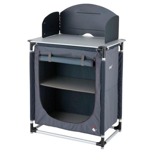 Gelert Aluminium Kitchen Stand & Cupboard