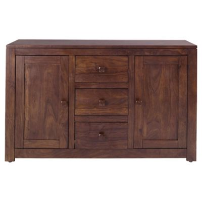 Tamarai 3 Drawer 2 Door Sideboard, Sheesham