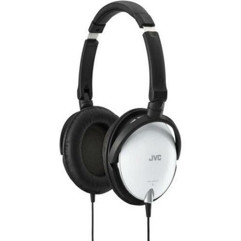 JVC High Quality Lightweight Headphones White HAS600W