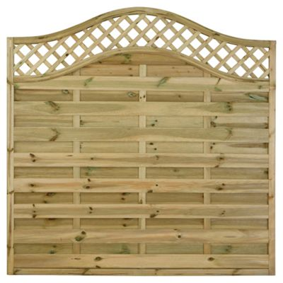 Timberdale 1.8mx1.8m Pembroke 5 Screen Pack with Posts and Fixing Brackets