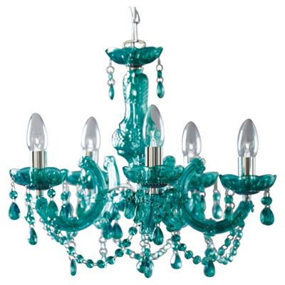 wrought iron chandelier light aspect collection vintage chairish height chandeliers teal used turquoise fit width