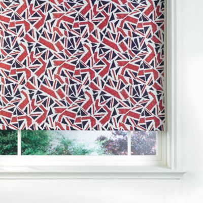 Union Jack Blind 180cm, Drop 170cm