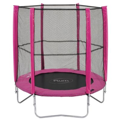 Plum 6ft Trampoline & Enclosure, Pink