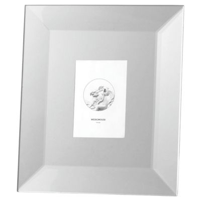 Wedgwood Silver Collection Bevelled Mirror Frame 5*8