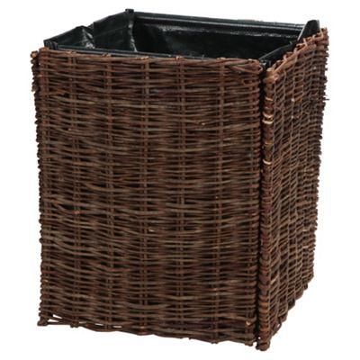 Willow planter 40x40x50cm