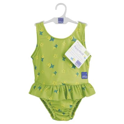 Bambino Mio Nappy Swim Suit- Lime Fish X Large