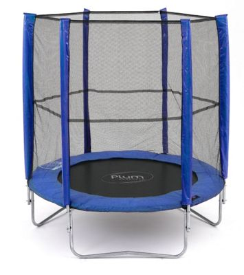 Plum 6ft Trampoline & Enclosure, Blue