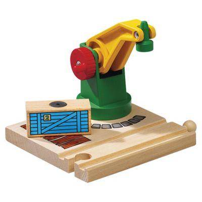 Brio Classic Accessory Low Level Crane, wooden toy