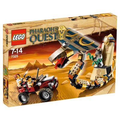 LEGO Pharaohs Quest Cursed Cobra Statue 7325