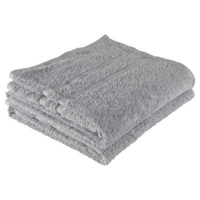 Tesco bath towel twin pack Cloud