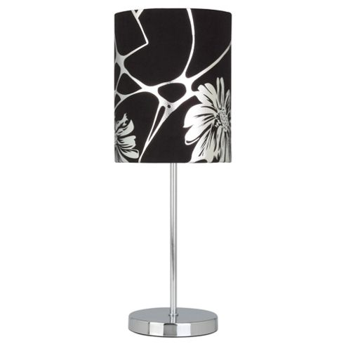 Tesco Lighting Silver foil print lamp