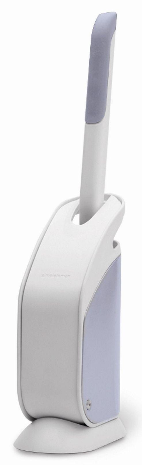 simplehuman Slim Toilet Brush - White