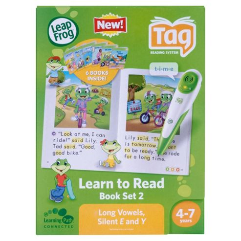 LeapFrog® LeapReader™ Learn to Read Book Set 2: Long Vowels