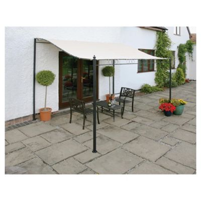 Greenhurst 3m Wall Mounted Gazebo