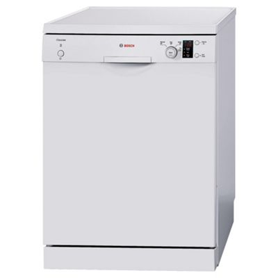Bosch Classixx SMS40C02GB White Dishwasher