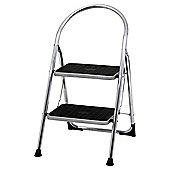 Abru 2 Tread Chrome Stepstool, 22042