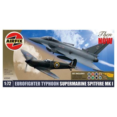 Airfix Then & Now Eurofighter & Spitfire Gift Set