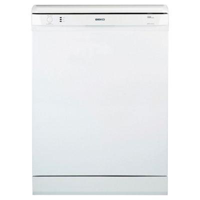 Beko DSFN1530W Full Size Dishwasher, A Energy Rating. White