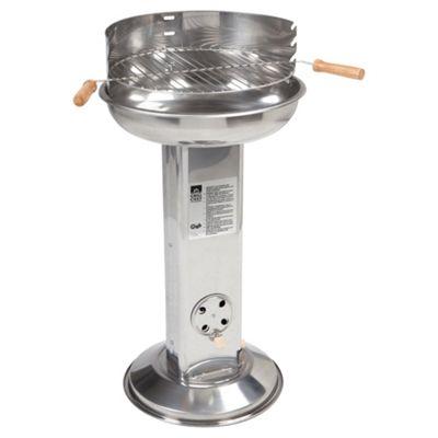 Landmann 11242 Stainless Steel Pedestal Charcoal BBQ