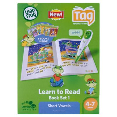 LeapFrog® LeapReader™ Learn to Read Book Set 1: Short Vowels
