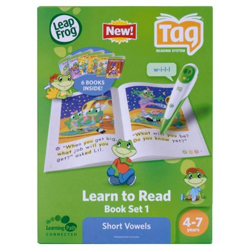 LeapFrog® LeapReader™ Learn to Read Book Set 1: Short Vowels