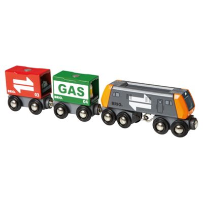 Brio Classic Freight Cargo Train, wooden toy
