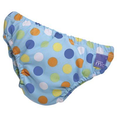 Bambino Mio Swim Nappy - Blue Spot Medium