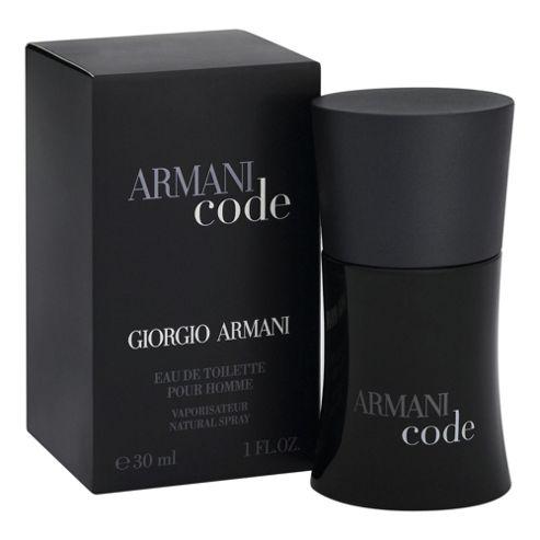 Giorgio Armani Code For Men EDT Spray 30ml