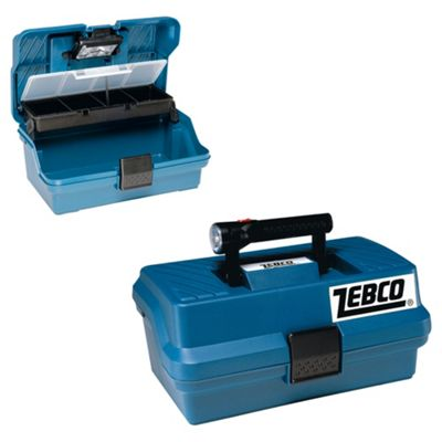 Zebco Fishing Box & Torch