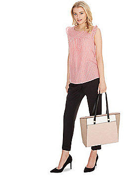 F&F Colour Block Tote Bag Multi One Size