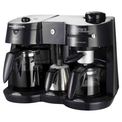 Morphy Richards 47010 Combi Coffee Maker with Frother
