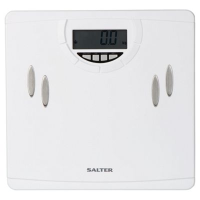 Salter White Body Analyser Scale 9139 WH3R